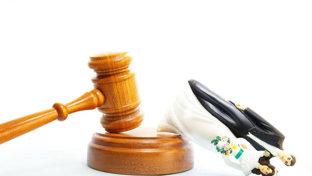 scheiding uitspraak rechter